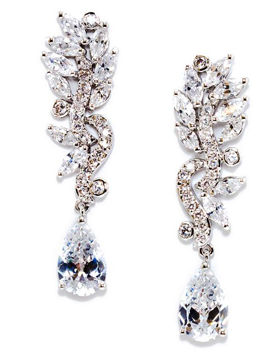 Anna Bellagio LISANNE MODERN VINTAGE CUBIC ZIRCONIA EARRING Wedding Earring photo