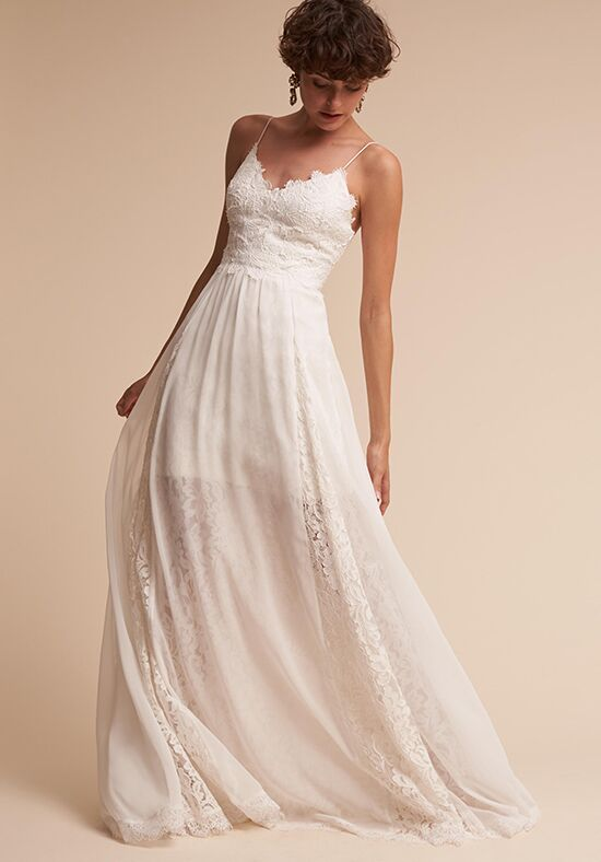 Bhldn cassia wedding dress the knot for Wedding dresses the knot