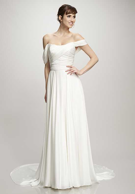 THEIA Delphine Sheath Wedding Dress