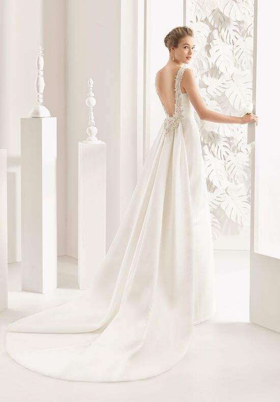 Rosa Clará Navas Wedding Dress - The Knot