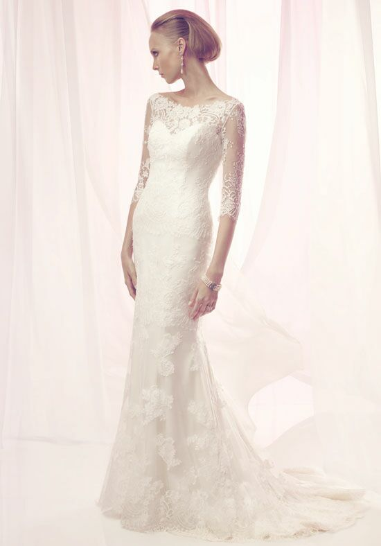 Amaré Couture by Crystal Richard B094 Sheath Wedding Dress