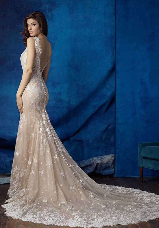 Allure Bridals 9354 Sheath Wedding Dress