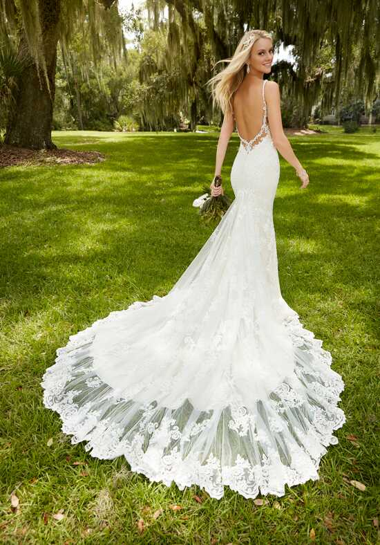 Martina Liana 744 Sheath Wedding Dress