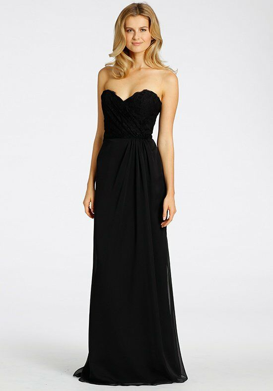 Hayley Paige Occasions 5532 Strapless Bridesmaid Dress