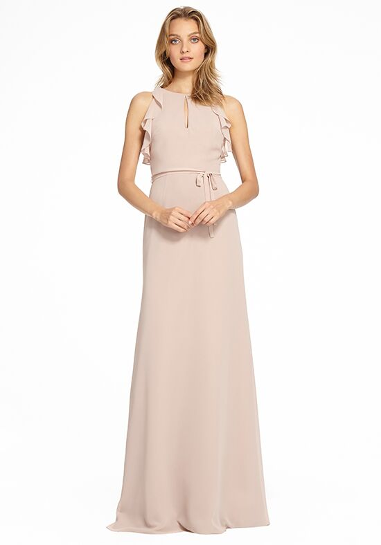 Monique Lhuillier Bridesmaids 450527 Halter Bridesmaid Dress