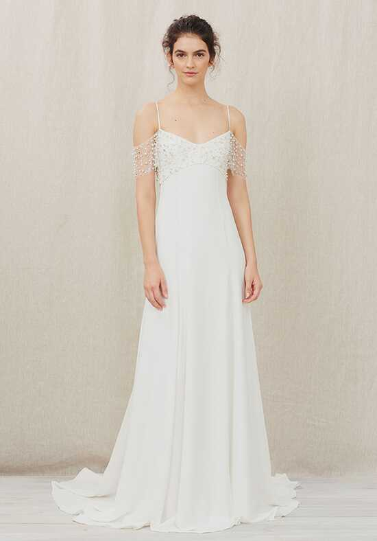 Christos Grace Sheath Wedding Dress