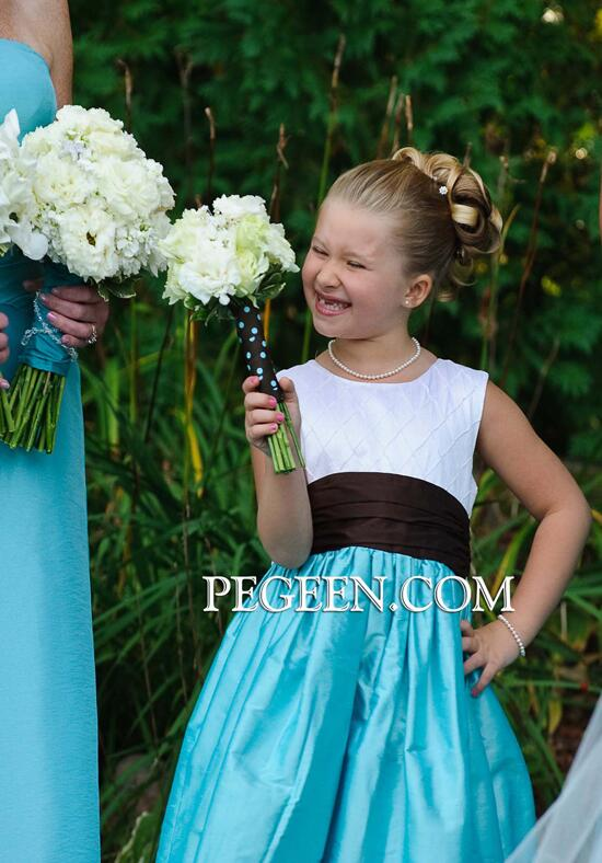 Pegeen.com  357 Flower Girl Dress photo