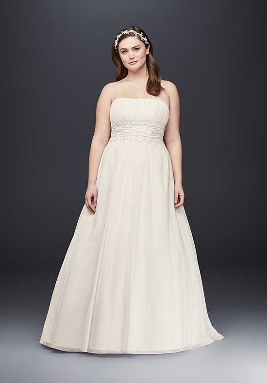 David's Bridal David's Bridal Collection Style 9V9743 A-Line Wedding Dress