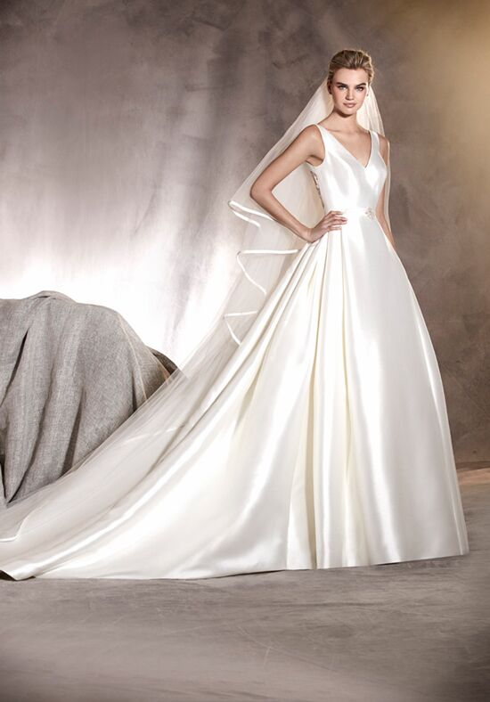 PRONOVIAS ALCOBA Ball Gown Wedding Dress