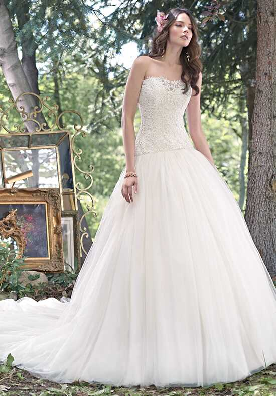 Maggie Sottero Becca Ball Gown Wedding Dress