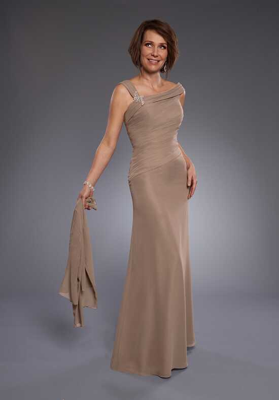 Beautiful Mothers by Mary's M2741 Orange Mother Of The Bride Dress