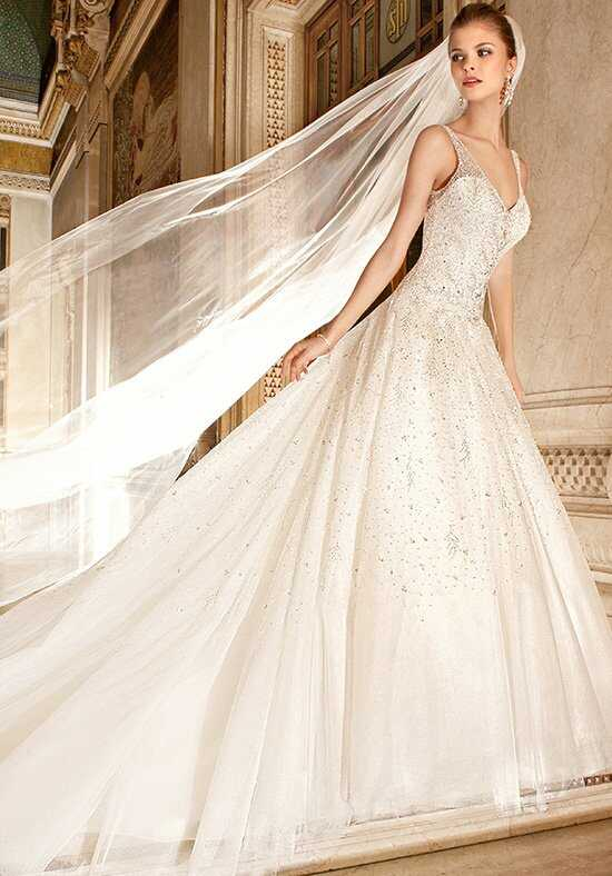 Demetrios 572 Ball Gown Wedding Dress