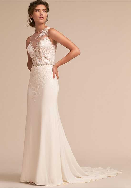 BHLDN Kellyn Gown Sheath Wedding Dress