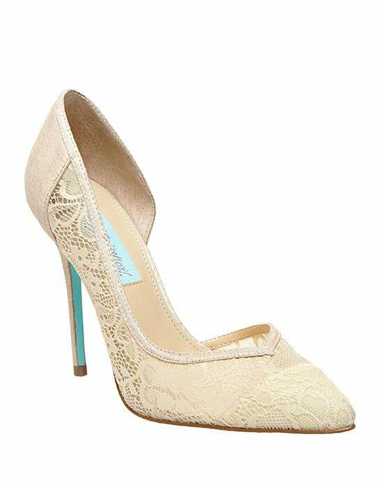 Blue by Betsey Johnson SB-GRACE - CHAMPAGNE Ivory Shoe