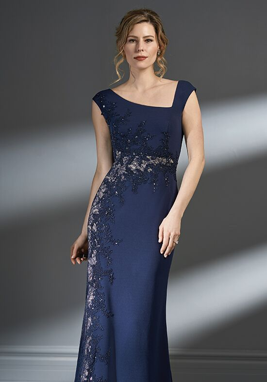 Jade Couture K198062 Blue Mother Of The Bride Dress