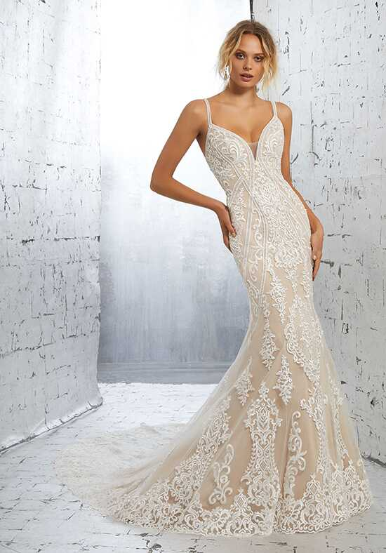 AF Couture: A Division of Morilee by Madeline Gardner Kimora/1703 Sheath Wedding Dress