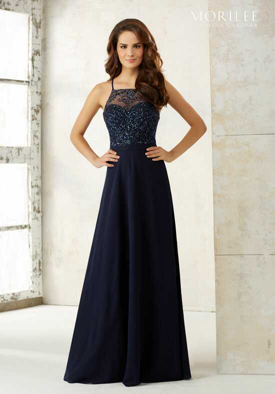Morilee by Madeline Gardner Bridesmaids 21506 Halter Bridesmaid Dress