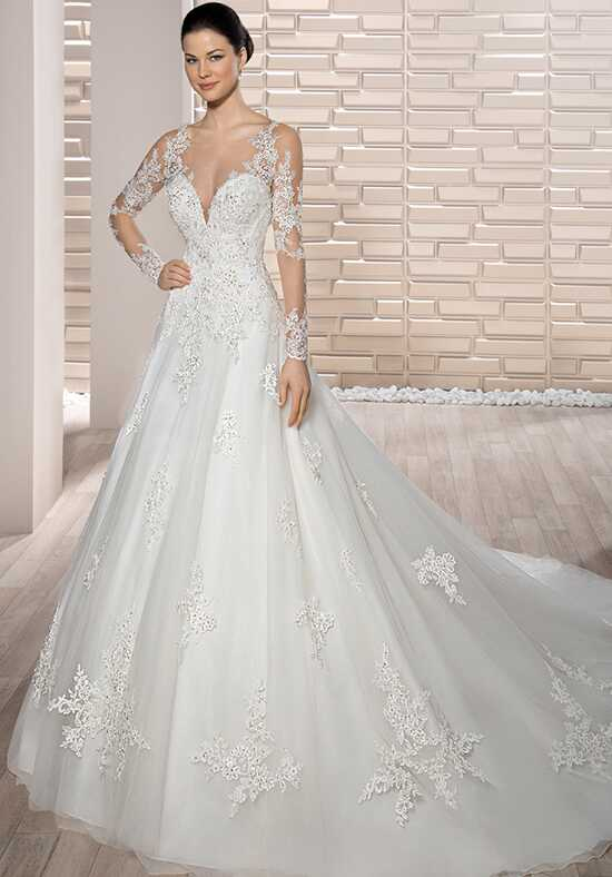 Demetrios 727 A-Line Wedding Dress