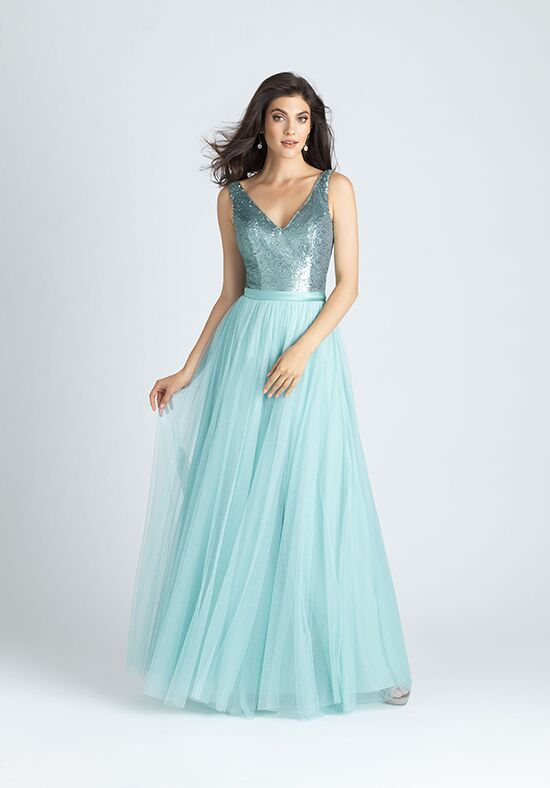 Allure Bridesmaids 1513 V-Neck Bridesmaid Dress