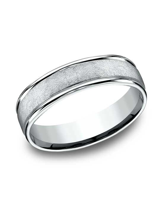 Benchmark RECF86585W White Gold Wedding Ring