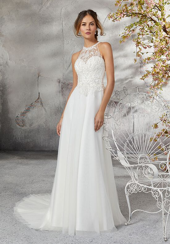 Morilee by Madeline Gardner/Blu 5691 / Lourdes A-Line Wedding Dress