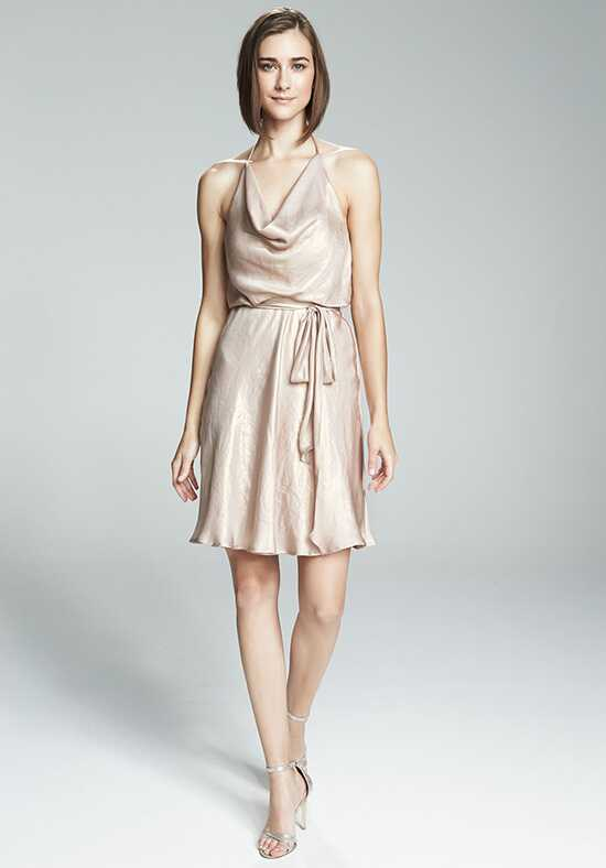 Nouvelle Amsale Bridesmaids Stacy Halter Bridesmaid Dress