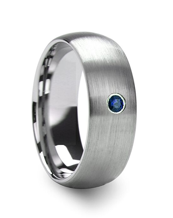 Mens Tungsten Wedding Bands T5425-BDBD Tungsten Wedding Ring