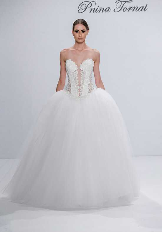 Pnina Tornai for Kleinfeld 4545 Ball Gown Wedding Dress