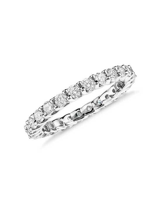 Monique Lhuillier Fine Jewelry Crown Diamond Eternity Ring (1 ct. tw.) Platinum Wedding Ring