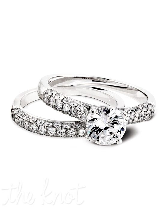 Jeff Cooper RP-1500 & RP-1500B Platinum, White Gold Wedding Ring