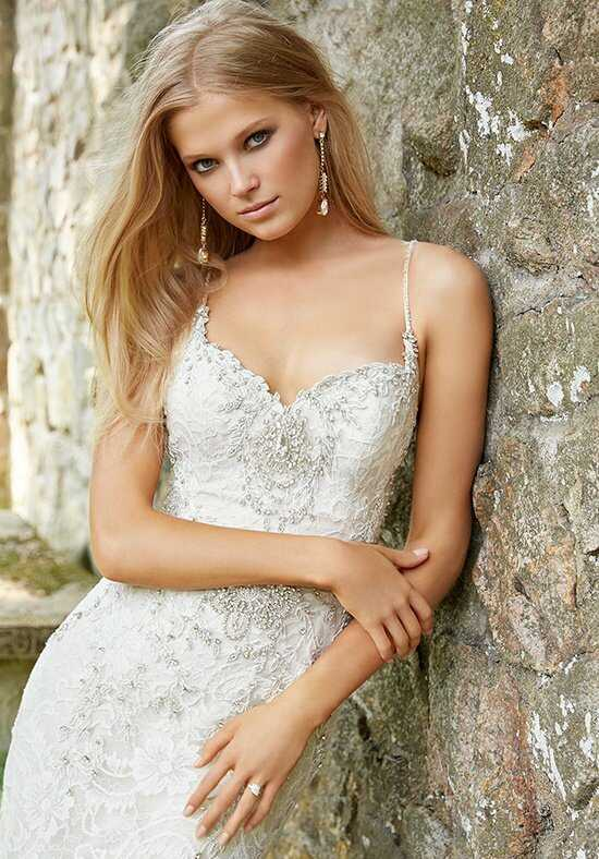 Alvina Valenta 9560 Sheath Wedding Dress