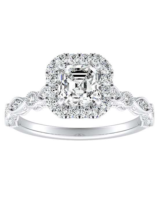 DiamondWish.com Vintage Princess, Asscher, Cushion, Marquise, Pear, Round, Oval Cut Engagement Ring