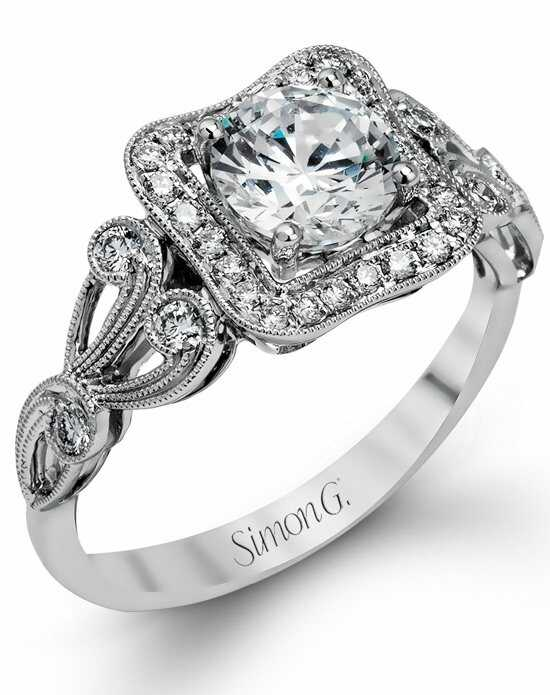 Simon G. Jewelry MR549 Engagement Ring photo