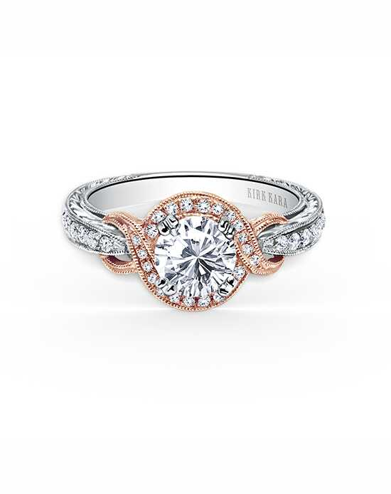 Kirk Kara Pirouetta Collection K150R65RWR Engagement Ring photo