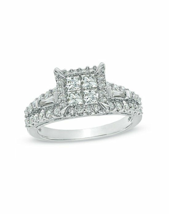 zales 1 1 4 ct t w princess cut engagement