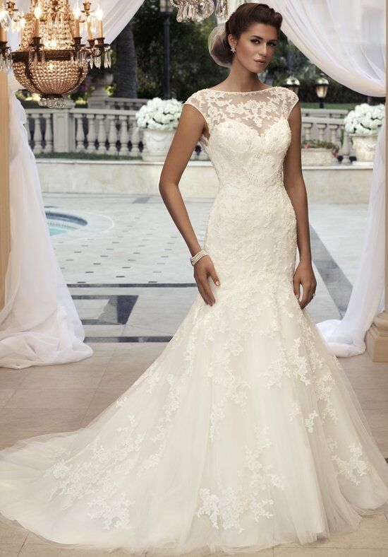 Casablanca Bridal 2110 Mermaid Wedding Dress