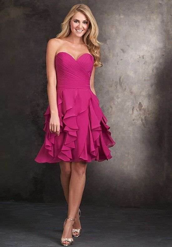 Allure Bridesmaids 1418 Sweetheart Bridesmaid Dress