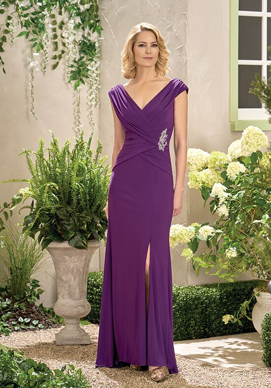 Jade J195005 Purple Mother Of The Bride Dress