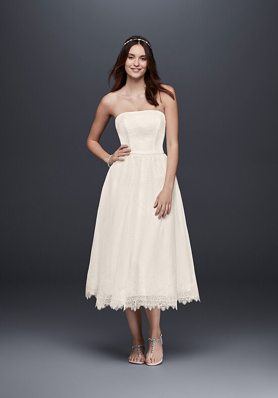David's Bridal David's Bridal Collection Style WG3858 A-Line Wedding Dress