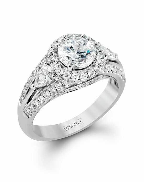 Simon G. Jewelry MR1506 Engagement Ring photo