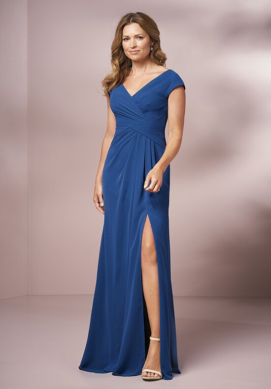 Jade J205001 Blue Mother Of The Bride Dress