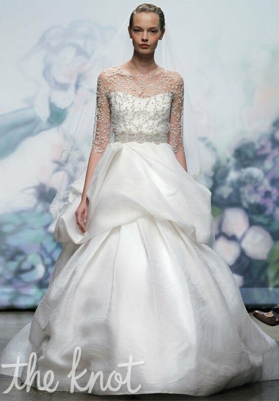 Monique Lhuillier Keepsake Ball Gown Wedding Dress