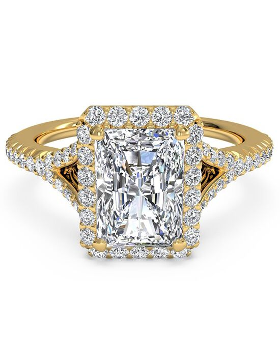 Ritani Glamorous Radiant Cut Engagement Ring