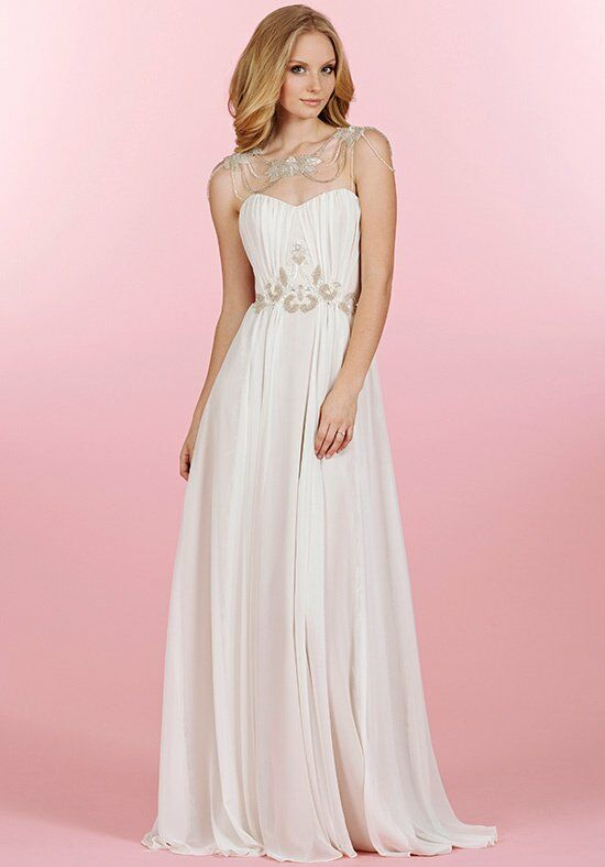 Blush by Hayley Paige 1452/Rowan Sheath Wedding Dress