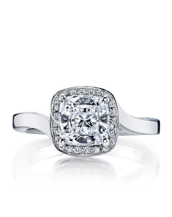 MARS Fine Jewelry Elegant Cushion Cut Engagement Ring