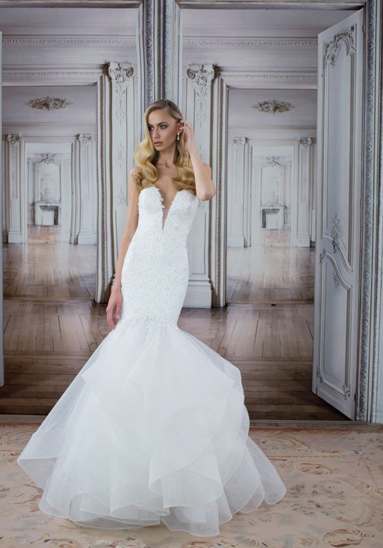 LOVE by Pnina Tornai for Kleinfeld 14482 Mermaid Wedding Dress