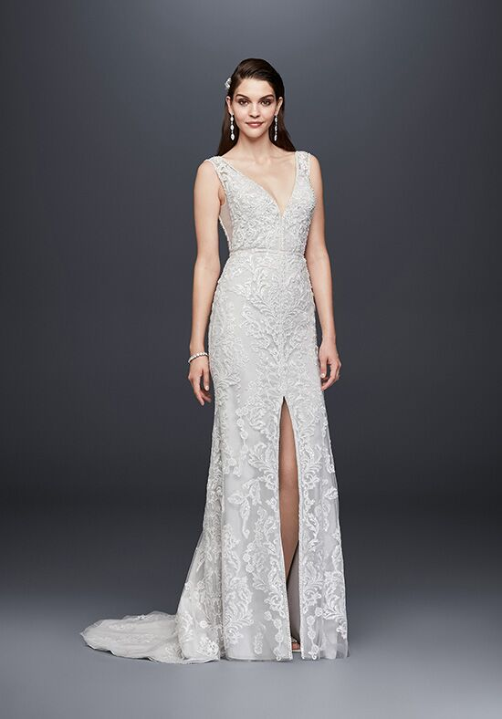 David's Bridal SWG785 Sheath Wedding Dress