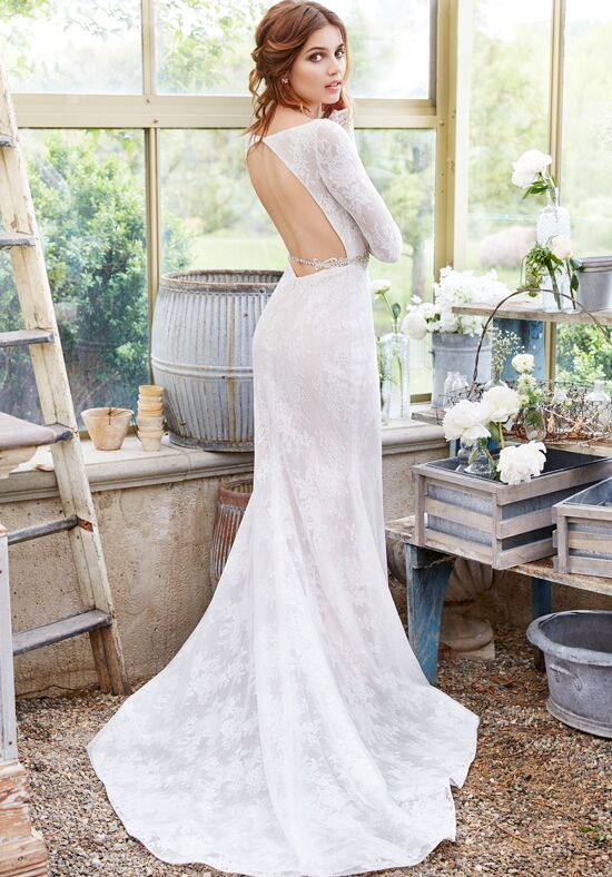 Tara Keely by Lazaro 2653 Sheath Wedding Dress