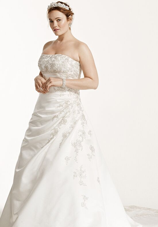 David's Bridal David's Bridal Woman Style 9V9665 A-Line Wedding Dress