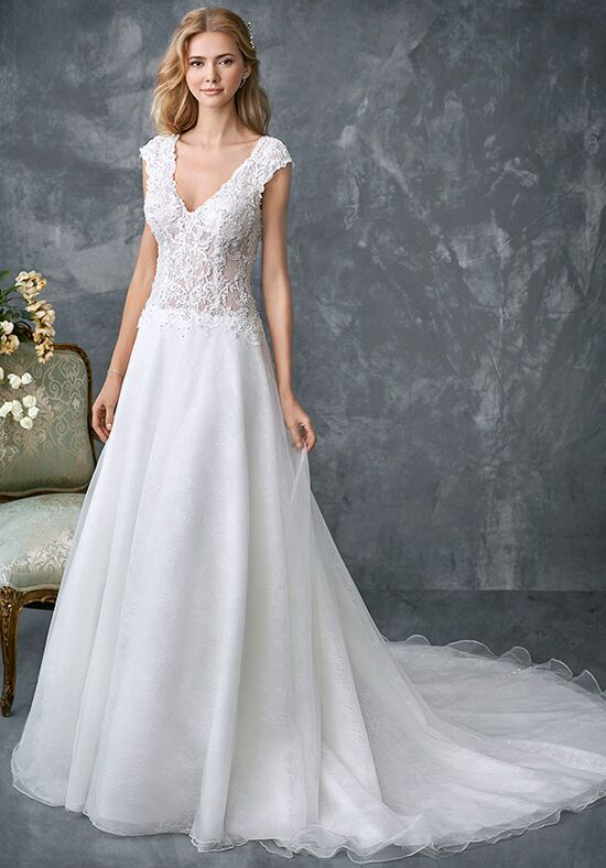 Kenneth Winston 1767 A-Line Wedding Dress